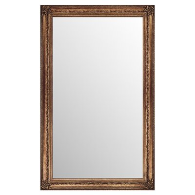 <strong>Paragon</strong> Rectangle Antique Gold Elegance Mirror