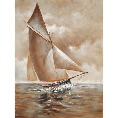 Sailboat Original Painting