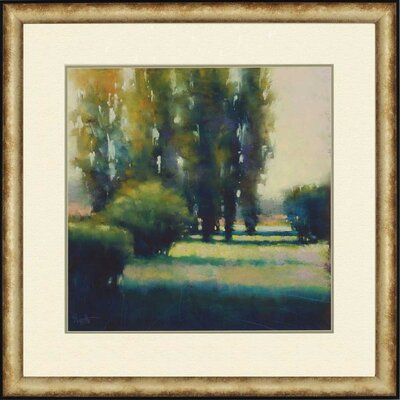 Cypress Solitude I by Tarbeaux Framed Painting Print