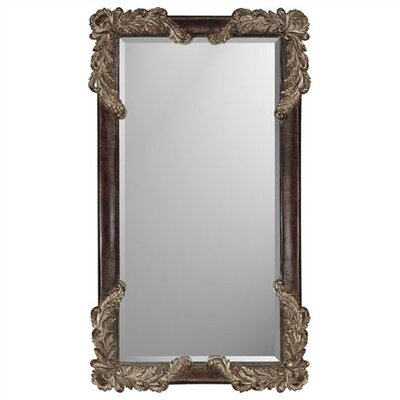 Rectangle Brown Finish Estate Mirror