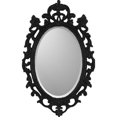 Paragon Black Ornate Traditional Wall Mirror