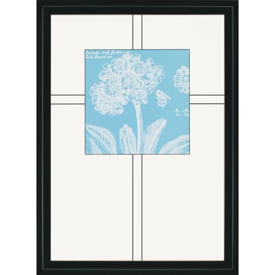 Paragon Summer Bees Florals by Scaletta Framed 4 Piece Graphic Art