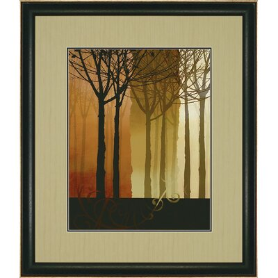 "Paragon Trees in Silhouette I by Butler Landscapes Art - 43"" x 37"""
