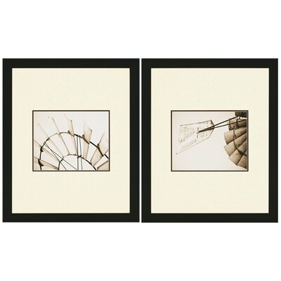 "Paragon Windmill Studies by Revells Americana Art - 30"" x 25"" (Set of 2)"
