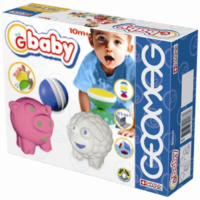 8 Piece Baby Farm Toy