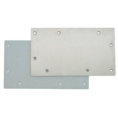 Stainless Steel Winter Plate for Wide Mouth Skimmer