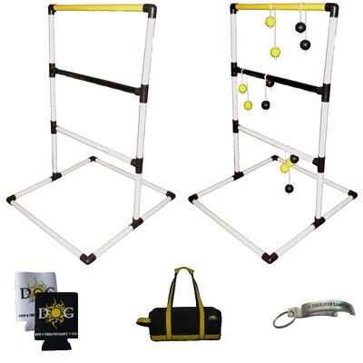 The Day of Games Plastic Ladder Toss Game Set