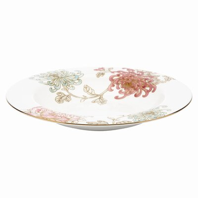 Marchesa by Lenox Painted Camellia Pasta / Rim Soup Bowl