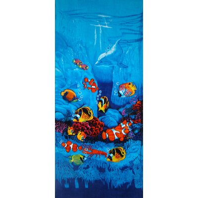 Textiles Plus Inc. Sealife Beach Towel