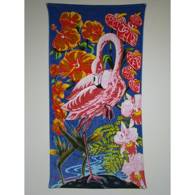 Textiles Plus Inc. Flamingo Beach Towel