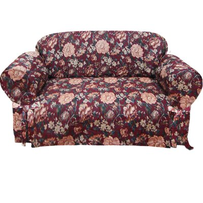 Textiles Plus Inc. Tapestry Loveseat Slipcover
