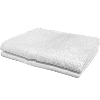 Textiles Plus Inc. Hotel/Spa Bath Sheet (Set of 2)