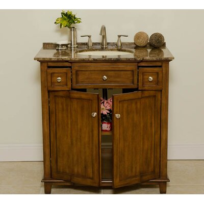 Global Treasures New York 34 Single Bathroom Vanity Set