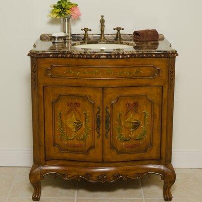 Global Treasures Juliet 34 Single Bathroom Vanity Set Reviews W