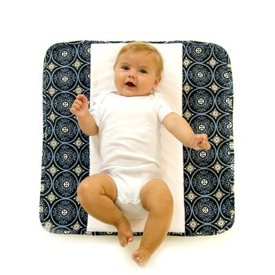 Ah Goo Baby The Plush Pad Memory Foam Changing Pad in Blueberry