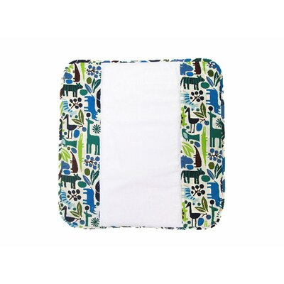 Ah Goo Baby The Plush Pad Memory Foam Changing Pad in Zoo Frenzy