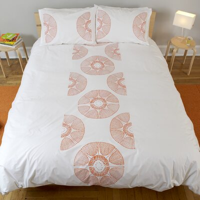 Radial Bloom Duvet Collection