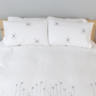 threesheets2thewind Dandelions Standard Pillow Cover
