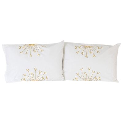 threesheets2thewind Rosette Standard Pillow Cover