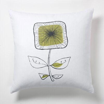 Square Flower Pillow
