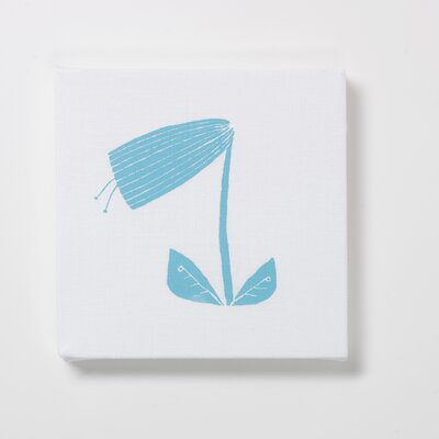three sheets 2 the wind Small Tulip Textile Wall Print