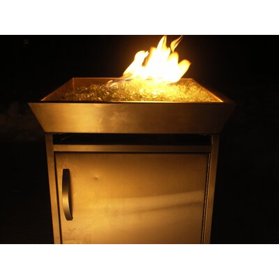 Urban Fire Outdoor Stainless Steel Gas Fire Column