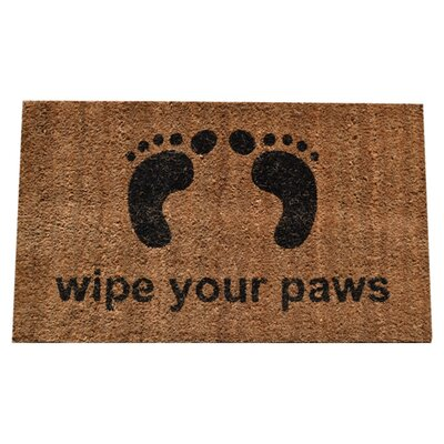 <strong>Imports Decor</strong> Wipe Your Feet Doormat
