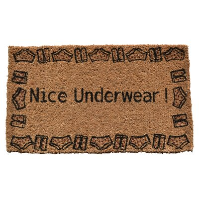 <strong>Imports Decor</strong> Nice Underwear Doormat