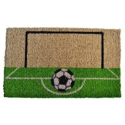 Imports Decor Soccer Field Doormat