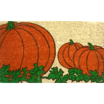 Imports Decor Pumpkin Doormat