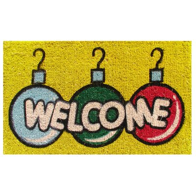 Imports Decor Welcome Bulbs Doormat
