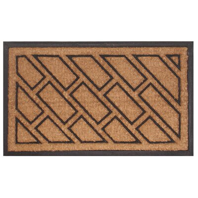 Imports Decor  Offset Brick Doormat