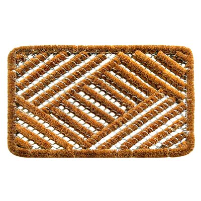 Imports Decor Spiral Cross Hatch Doormat