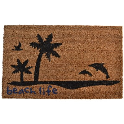 Imports Decor Beach Life Doormat