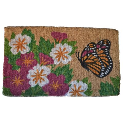 Imports Decor Butterfly Garden Mat