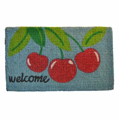 Imports Decor Welcome Cherry Mat