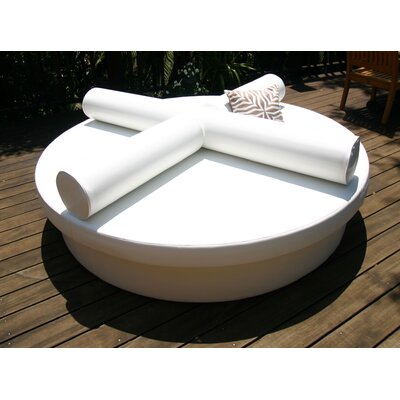 La-Fete Demi-lune Outdoor Platform Bed