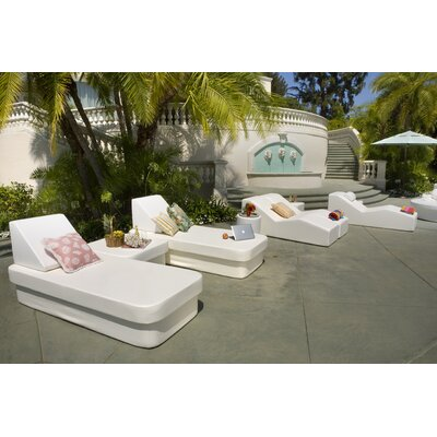 La-Fete Resort Daybed with Lean Headboard Bolster