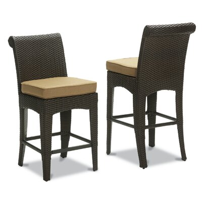 Sunset West Santa Barbara Barstool with Cushion