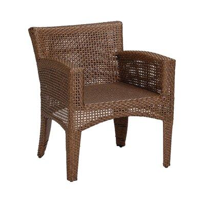 Sunset West Huntington Dining Arm Chair with Cushion