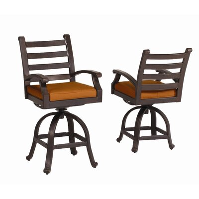 "Sunset West Newport 26"" Barstool with Cushion"