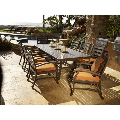 Sunset West Newport 9 Piece Dining Set
