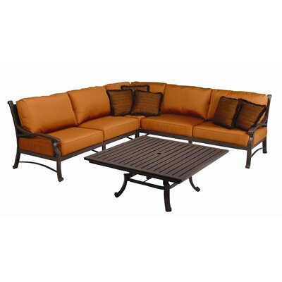 Sunset West Newport Deep Seating Group with Cushions