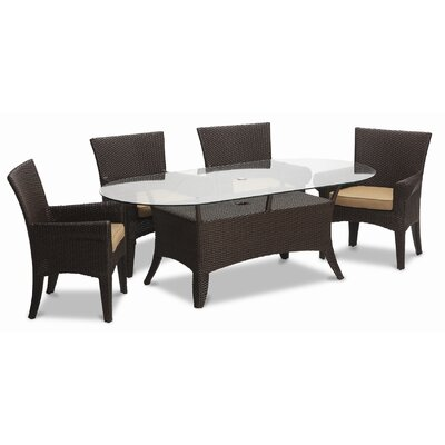 Sunset West Santa Barbara 7 Piece Dining Set