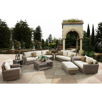 Sunset West Coronado Deep Seating Group with Cushions