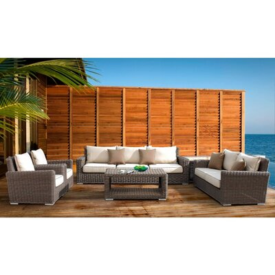 Sunset West Montecito Deep Seating Group with Cushions