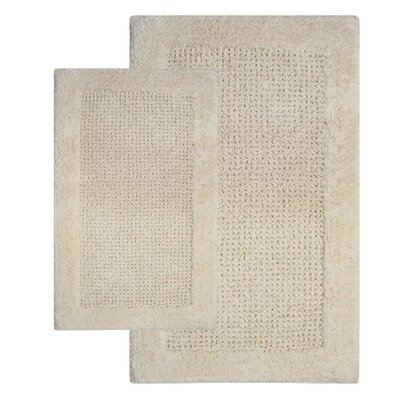 Chesapeake Merchandising Inc. Naples Contemporary Bath Rug (Set of 2)