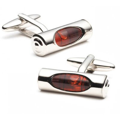 Cufflinks Inc. Level Cufflinks in Red
