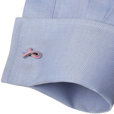 Cufflinks Inc. Awareness Ribbon Cufflinks in Pink