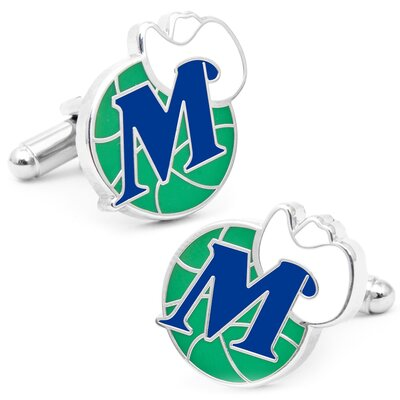Cufflinks Inc. Dallas Mavericks Vintage Cufflinks
